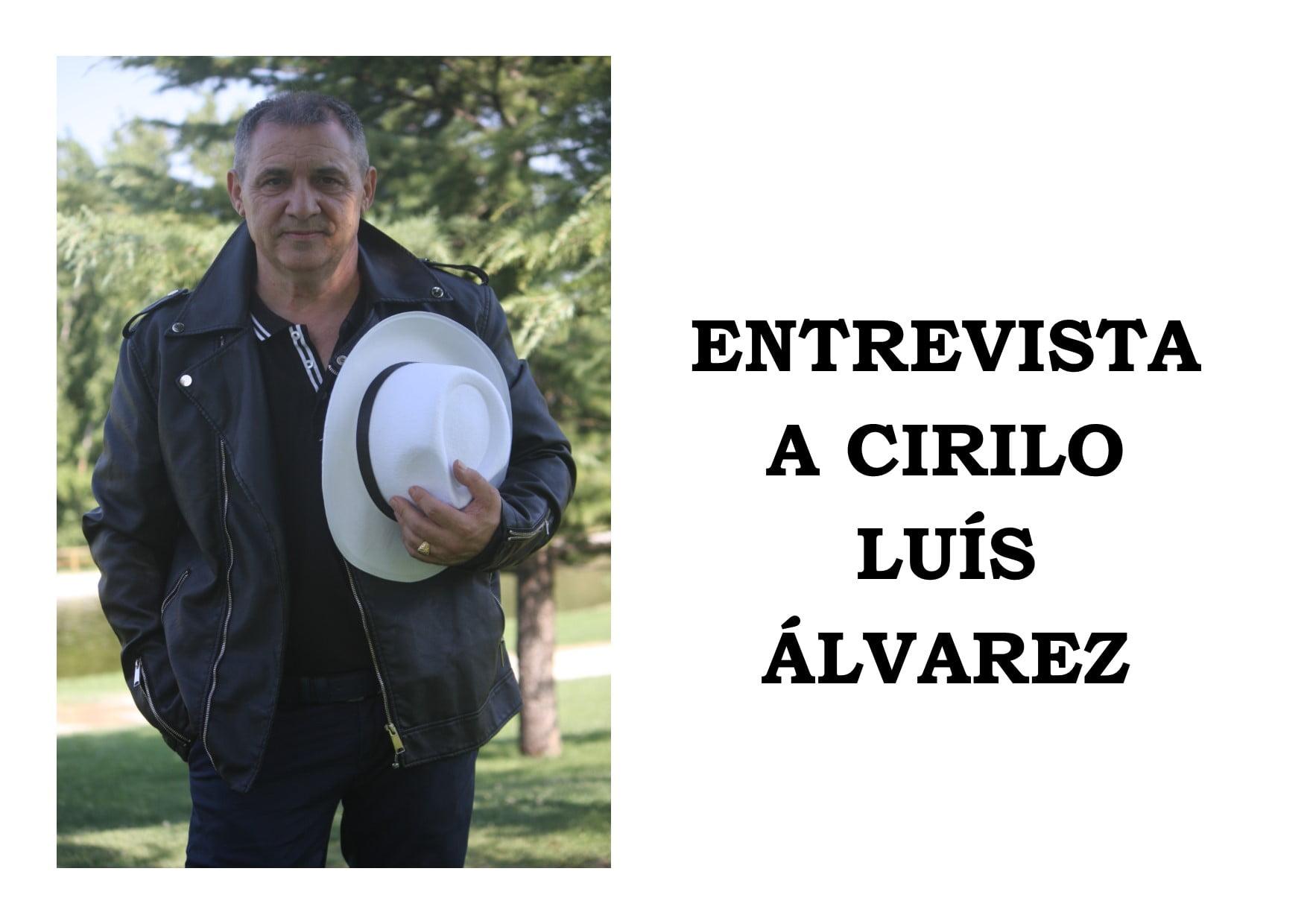 Entrevista Cirilo Luís Álvarez